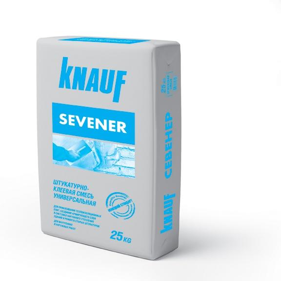 Фото - Клей для теплоизоляции Knauf Севенер 25 кг
