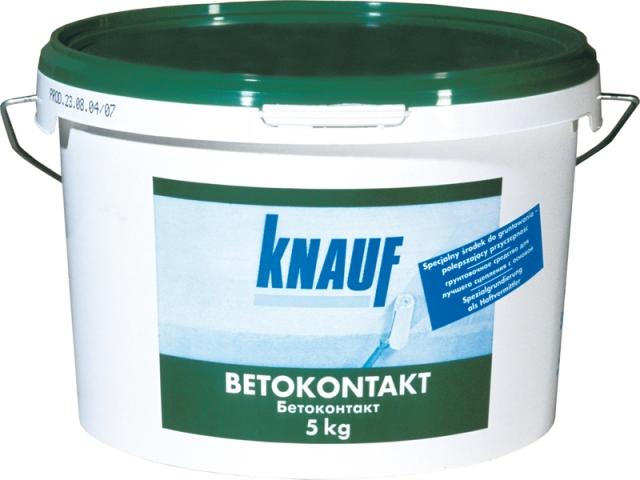 Фото - Бетоконтакт Кнауф / Knauf, 5 кг.