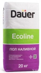 Наливной пол DAUER Eсoline / ДАУЭР Эколайн быстротвердеющий (20 кг), фото