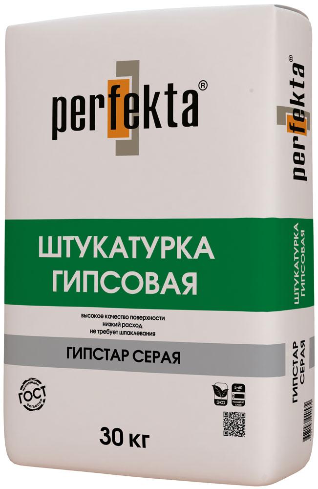 Perfekta Гипстар Штукатурка белая 30 кг, фото