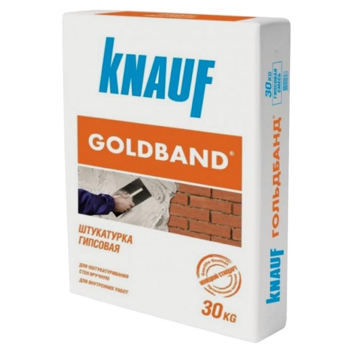 Штукатурка гипсовая Knauf Гольдбанд 30 кг, фото