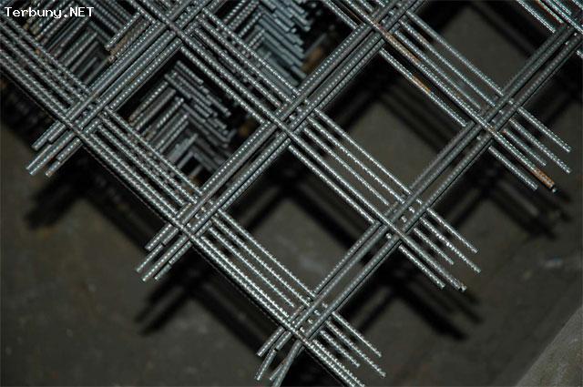 Фото - Сетка металлическая 100х100х4 мм 3 м. кв.