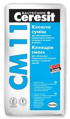 Фото - Клей  для плитки Церезит СМ-11 25 кг