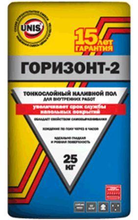 Фото - Юнис Горизонт-2 ( наливной пол ) 25 кг.