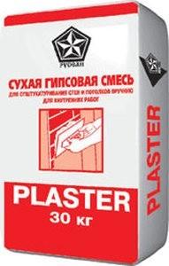 Фото - Гипсовая штукатурка Русеан Пластер 30 кг (АНАЛОГ РОТБАНД КНАУФ!!! )
