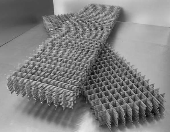 Фото - Сетка сварная 50х50х4 размер карты 0,5х2