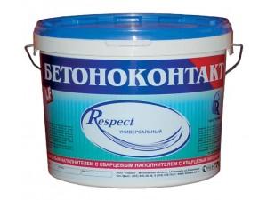 Фото - Бетоноконтакт Респект Гермес, 10кг