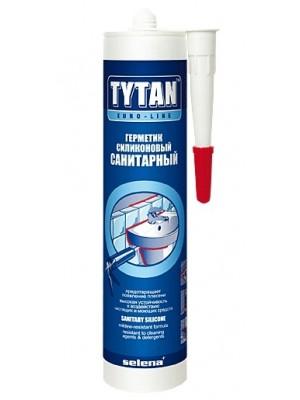 Фото - Герметик Tytan Euro-Line Силикон санитарный белый 290мл