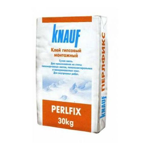 Фото - Перлфикс Кнауф клей для ГКЛ 30 кг