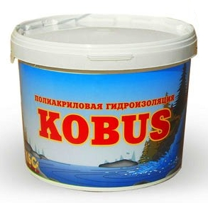 Фото - Полиакриловая гидроизоляция КОБУС (12 кг)