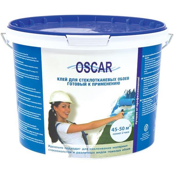 Фото - Клей Oscar для стеклообоев 10 кг (готовый)