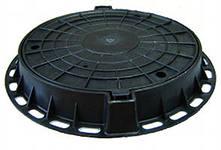 Люк полимерный d=100 мм. (комплект), фото